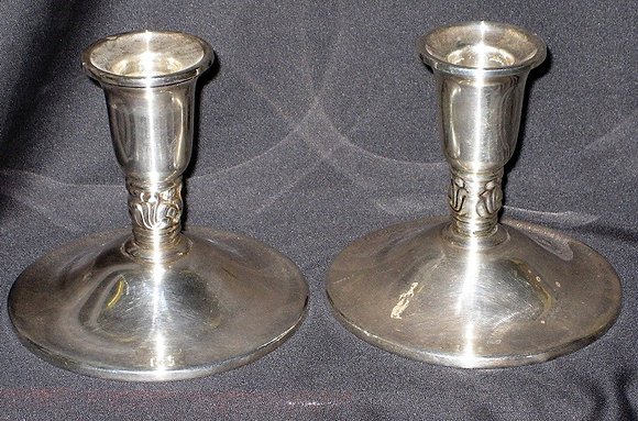 American Silver - Candleholders