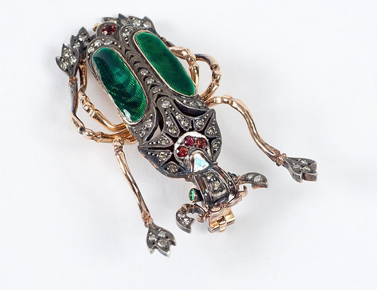 Russian Brooch