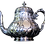 Thumbnail: Sterling Silver Tea Set