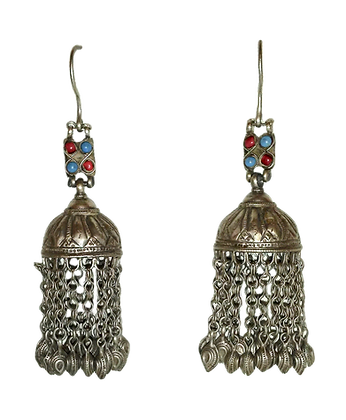 Earrings Jhumka style