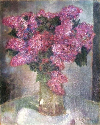 Simkha Simkhovitch - Bouquet of lilacs