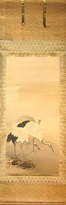 Pair of Japanese Wall Scrolls