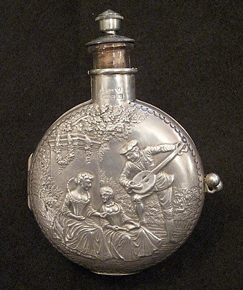 English Silver - Perfume Bottle