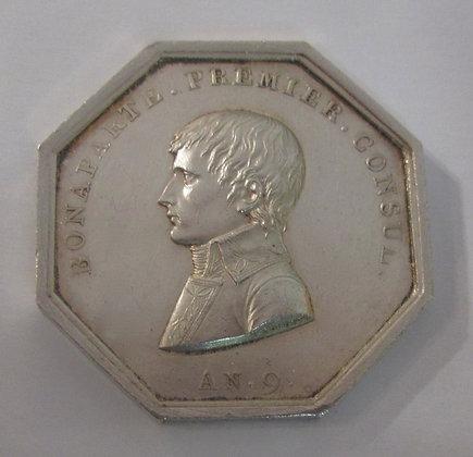 Silver Token Paris 1802