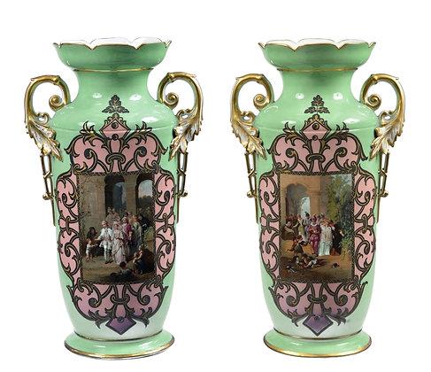 Austrian Monumental Vases