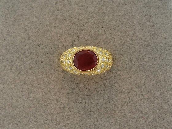 Lapidarius Workshops - Ruby & Diamonds