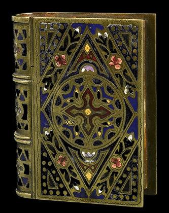 Limoges -Enamelled Bronze Box