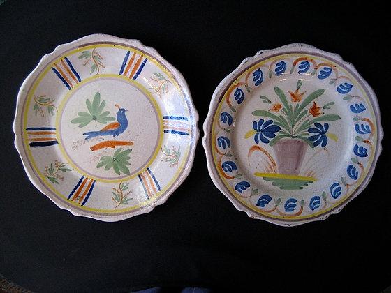 Quimper - Faïence Plates