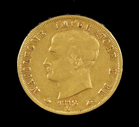 Napoleon Bonaparte Italian Gold Coin