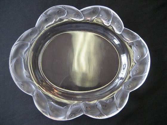 Lalique - Oval Plate