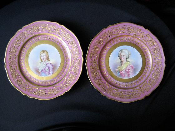 Sevres Mark - Porcelain Plates