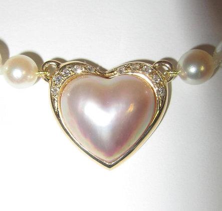 Mikimoto - Valentine's Necklace