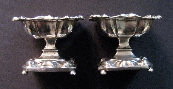 Russian Silver - Salt cellars