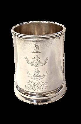 Hendery - Clan Grant Silver Mug