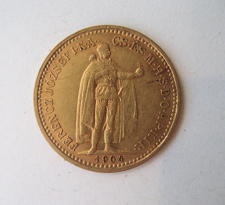 Hungary Gold Coin 1904