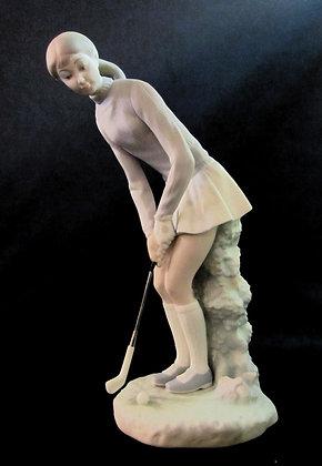 Lladro - Lady Golfer