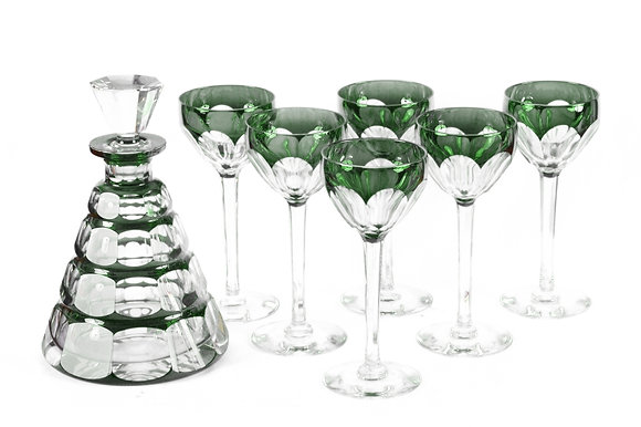 Val Saint Lambert - Decanter Set