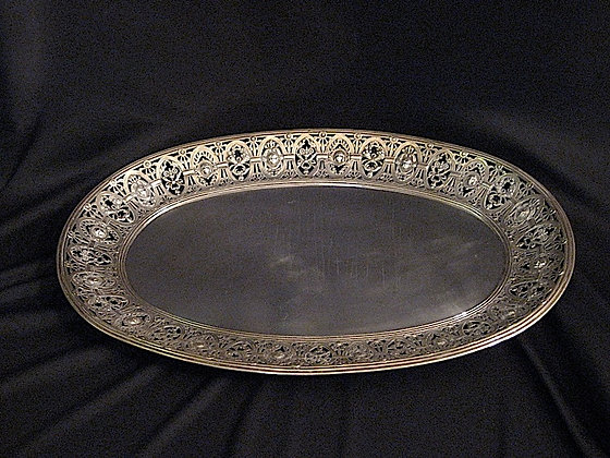 Egyptian Revival French Salver