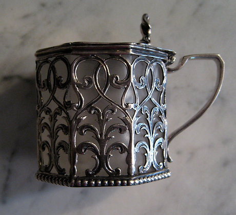 English Silver - Sterling Silver Mustard Cup