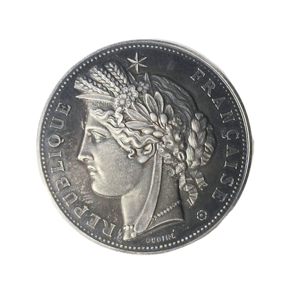 French Silver Medal