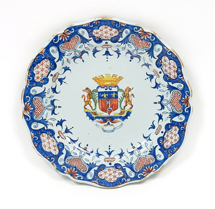 Quimper - Faience Plate