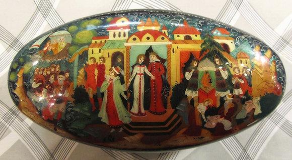 Palekh - The Tale of Tsar Saltan