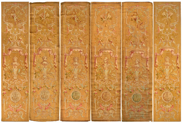 Palatial Panels Tapestry