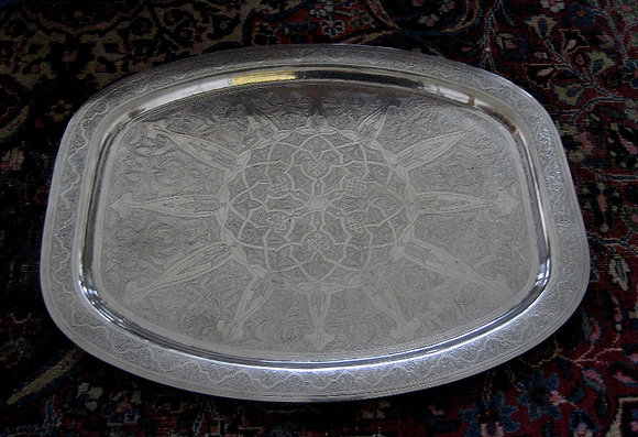 Egyptian Silver - Silver Salver