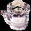 Thumbnail: Sterling Silver Tea Set