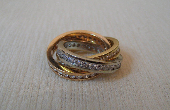 Trinity Eternity Ring