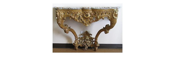 Louis XV Giltwood Console