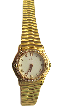 Ebel - Classic Wave Gold & Diamonds