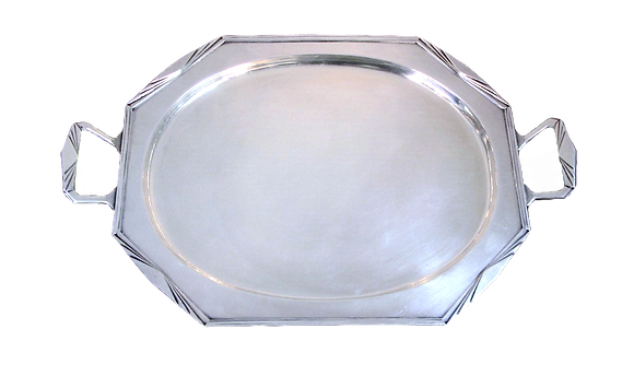 Art Deco Sterling Silver Tray