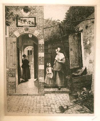 After Pieter de Hooch