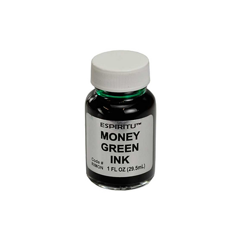 Money/Heart Chakra Green Spell and Ritual Ink