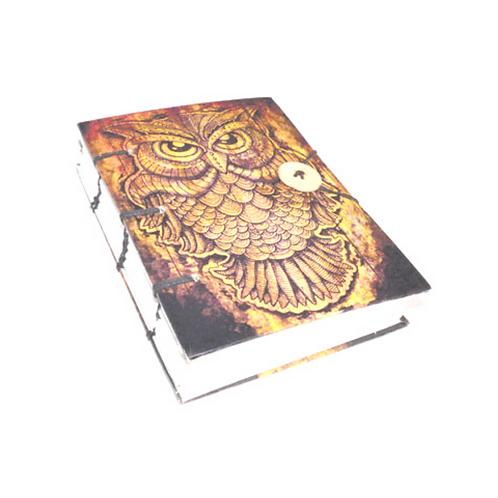 Owl Parchment Paper Journal
