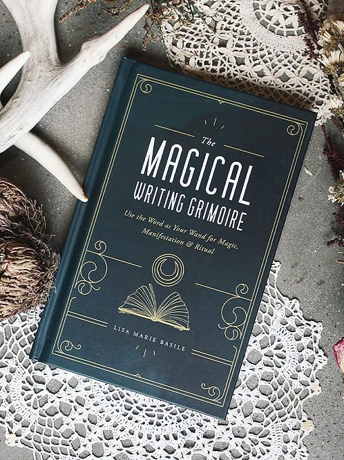 Magical Writing Grimoire by Lisa Marie Basile (Hardcover)