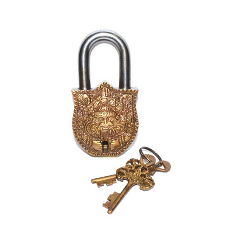 Buddha Lock & Key
