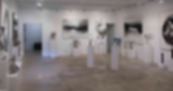 Cavilla Fine Art Gallery, displayer sculptures from Victor Quintanilla and paintings of Fatima Conesa