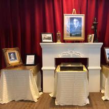 Exposición de memorabilia de Walter McK Jones