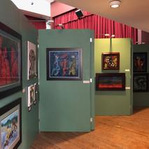 Exposición de las obras de mos Maestros Eliel Pérez, Domitilo Negrón y Enrique de Jesús