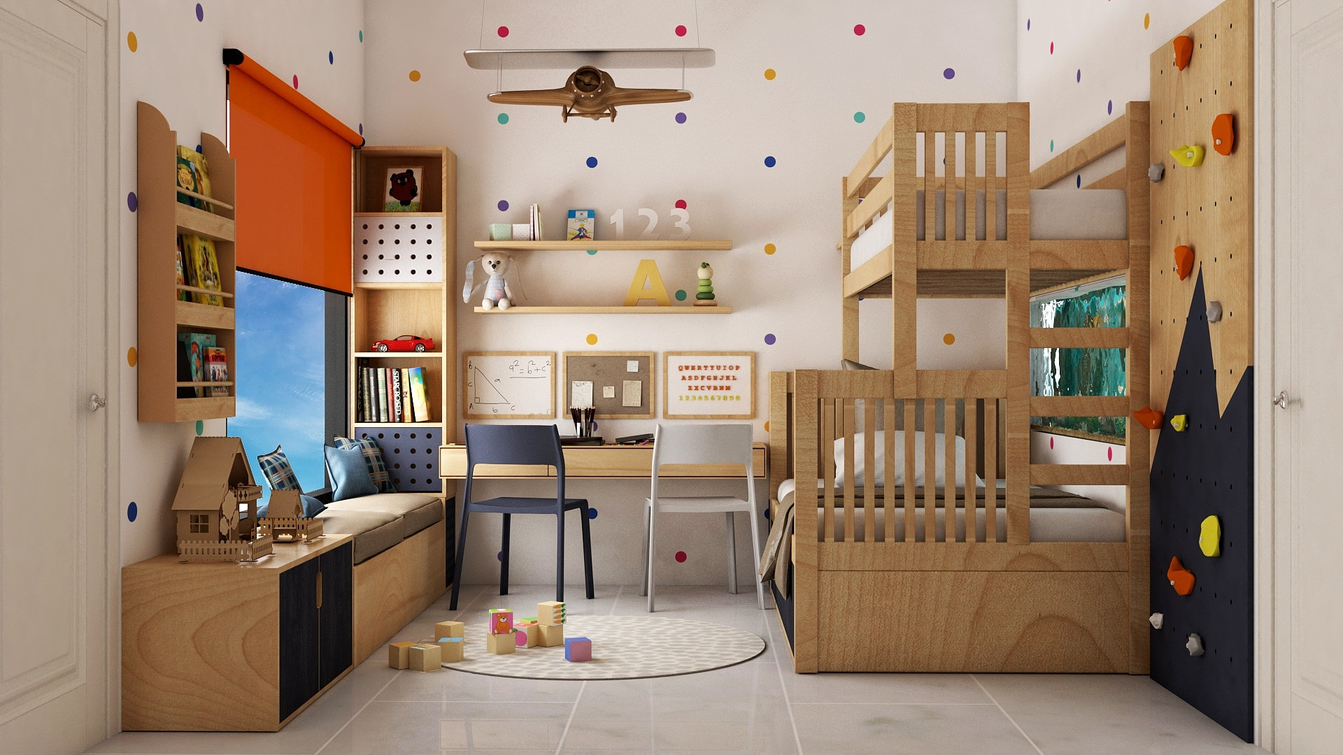 Acel Rivers Design Studio I Kids Room