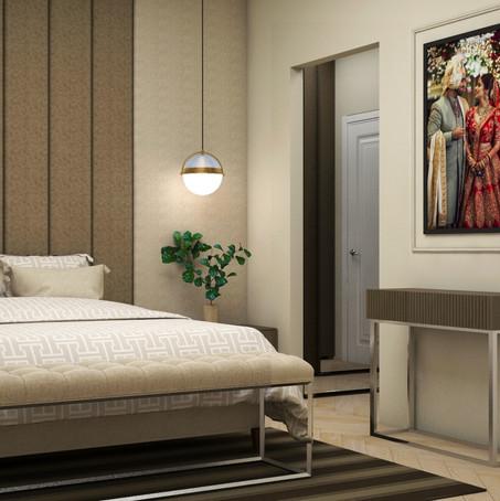 Acel Rivers Design Studio I Master Bedroom