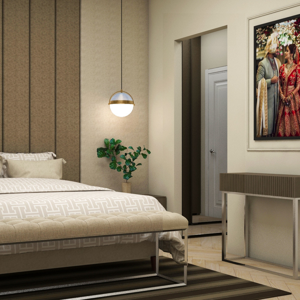 Acel Rivers Design Studio I Master Bedroom