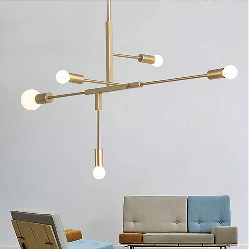 Modern Nordic Pendant Lights Black Gold Pendant Lamps