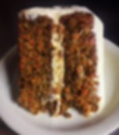 carrot cake at gwins lodge