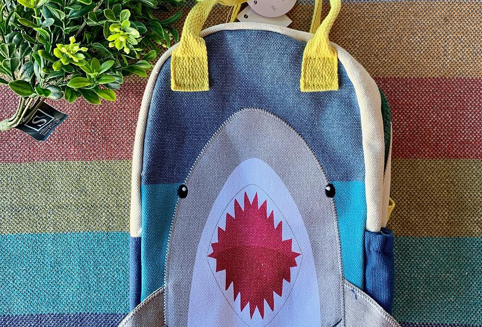 Canvas Shark Backpack