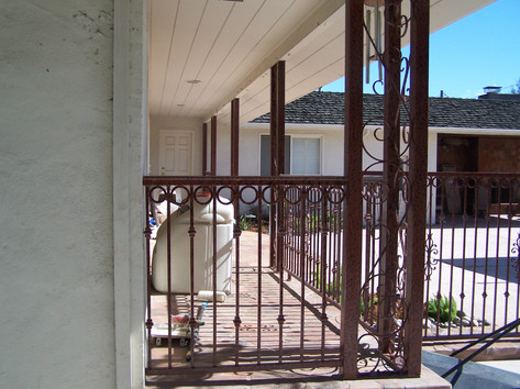 Fence, Gate & Column-Iron