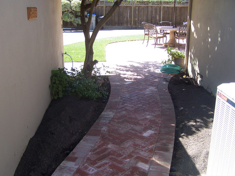 Bricks Walkway