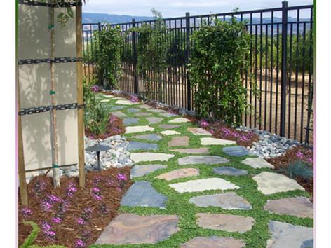 Stepping Stones walkway